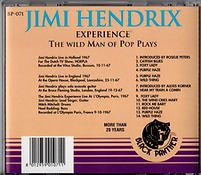 jimi hendrix collector cd bootlegs /the wild man of pop plays 1992 japan