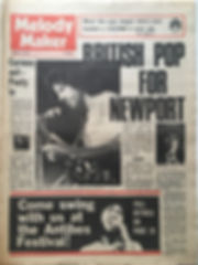 melody maker january 25 1969