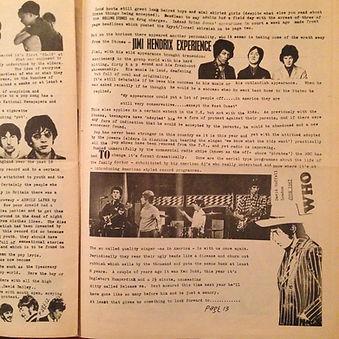hendrix rotily newspapers/the haight ashbury tribune 1967