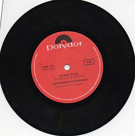jimi hendrix vinyls singles /side a / gypsy eyes