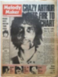 jimi hendrix newspaper/melody maker july 20 1968