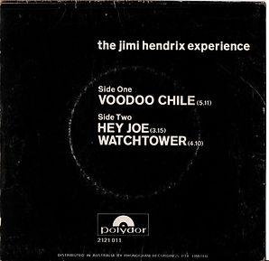jimi hendrix collector single vinyls maxi single/voodoo chile 1970 polydor australia