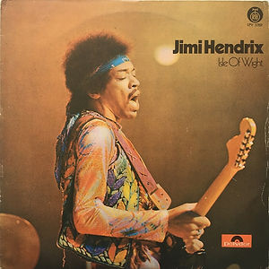 jimi hendrix album vinyl LPs/isle of wight yugoslivia 1971