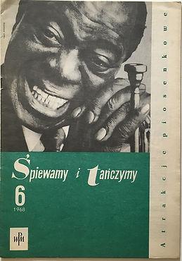 jimi hendrix magazine june 1968 /poland /spiewamy i tanczymy