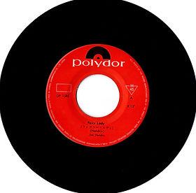 jimi hendrix vinyl single/foxy lady  japan