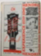 jimi hendrix magazine/rock & folk 1/1967