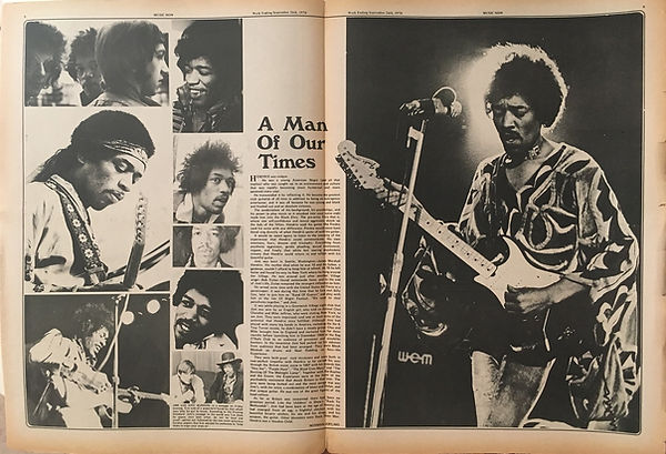 jimi hendrix newspapers 1970 / music now: September 26, 1970