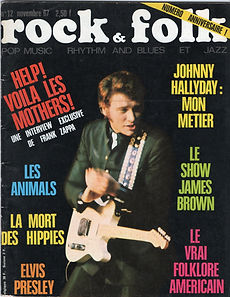 jimi hendrix collector magazine/rock & flock 11/1967