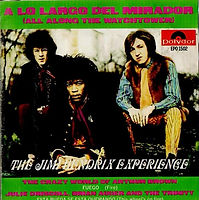 jimi hendrix collector ep/vinyls/all along the watchower/mexico 1968