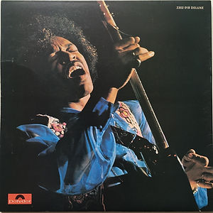 jimi hendrix vinyl album lp/in the west 1971  england