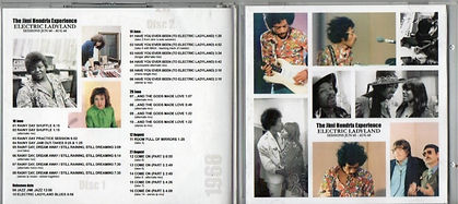 jimi hendrix cd bootlegs/electric ladyland sessions june 68 - august 68