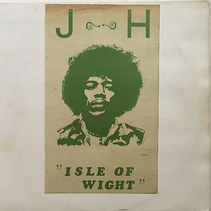 jimi hendrix bootlegs vinyls 1970 / j-h isle of wight   gatefold