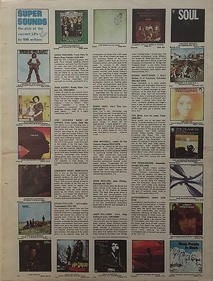 jimi hendrix newspaper 1970 /record mirror  june 20, 1970
