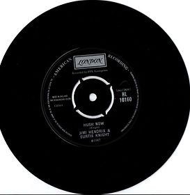 jimi hendrix collector singles vinyls/hush now norway 1967
