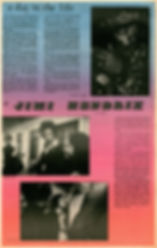jimi hendrix newspaper/rat  1968