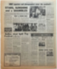 jimi hendrix newspaper/new musical express 17/8/68 jimi goes great