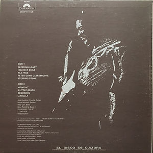 jimi hendrix vinyls albums / war heroes venezuela 1973
