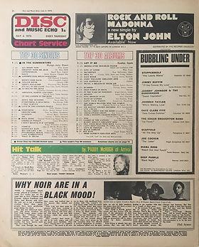 jimi hendrix newspaper 1970 /disc music echo  july 4, 1970