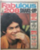 jimi hendrix newspaper/fabulous 208  april 4/68