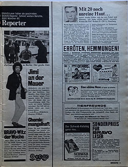 jimi hendrix mgazines/bravo august 5 1968