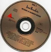 jimi hendrix bootlegs cd /jimi hendrix incident at rainbow bridge 2cd / disc 1
