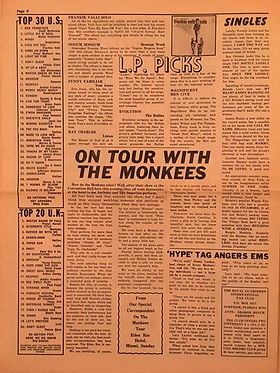 jimi hendrix rotily newspapers collector /GO 21/7/67