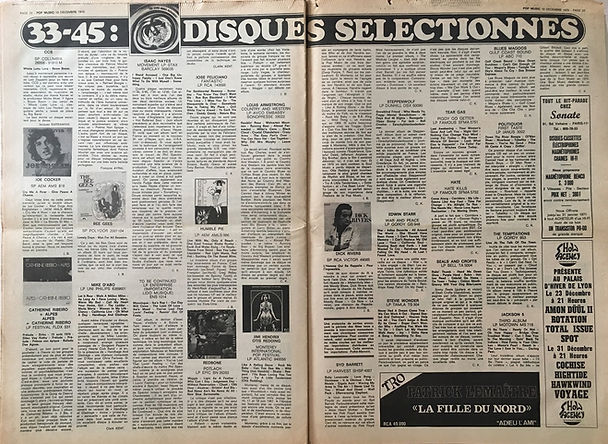 jimi hendrix newspapers 1970 / pop music december 10,  1970  / review otis/jimi