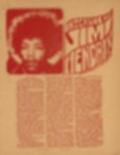 jimi hendrix newspaper/warren forest sun/detroit usa september  1967