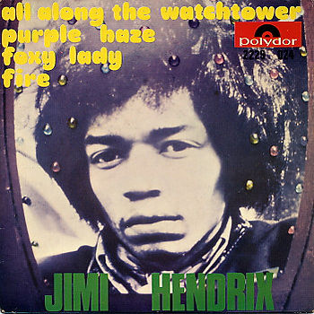 jimi hendrix vinyls ep / all along the watchtower  holland