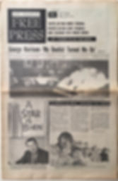 newspapers collector/free press los angeles august  11/1967
