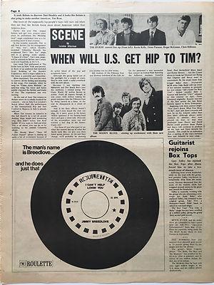 jimi hendrix newspaper/go may 17 1968