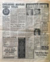 jimi hendrix collector newspaper/disc music echo 11/11/67 /countdown jimi hendrix packtage/11/11/67