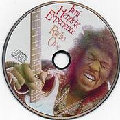 jimi hendrix  cd album / radio one ryko
