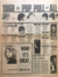 jimi hendrix newspaper/melody maker  21/9/68
