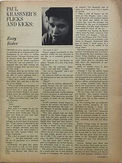 jimi hendrix magazines 1969/cavalier october 1969: eazy rider