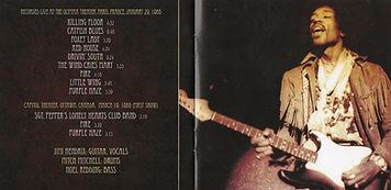 jimi hendrix cd bootlegs/live 1968 paris + ottawa
