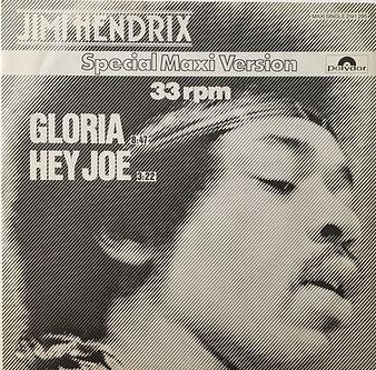 jimi hendrix collector maxi singles vinyls/gloria/hey joe germany 1980 box edition