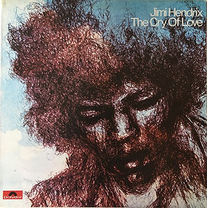 reissue / jimi hendrix vinyls albums / the cry of love 1980 italy