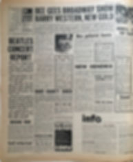 jimi hendrix newspaper/new musical express october 5 1968 / new hendrix