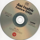 jimi hendrix collector VCD /rainbow bridge   1995
