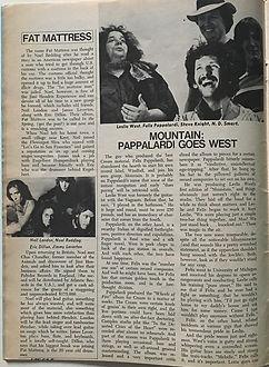 jimi henrix magazines 1969/circus november 1969:fat mattress