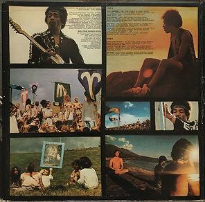 jimi hendrix vinyls albums/rainbow bridge  1971 promotional copy