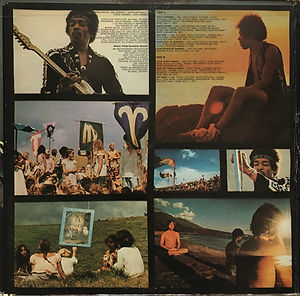jimi hendrix vinyls albums/rainbow bridge  1971 promotional copy