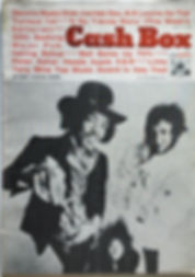 jimi hendrix magazine 1968/cash box october 5 1968