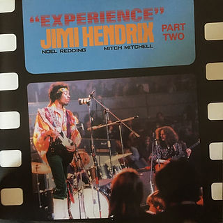 jimi hendrix vinyls collector 1969/ experience part two / italy