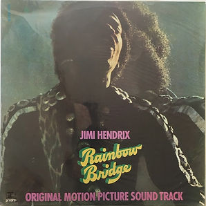 jimi hendrix album vinyl lp/rainbow bridge 1973 brazil
