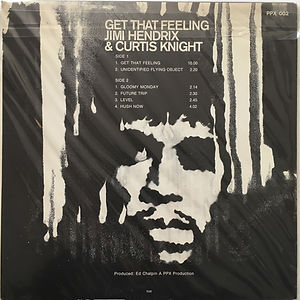 jimi hendrix vinyls albums collector/get that feeling 1968