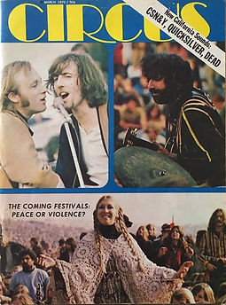 jimi hendrix magazines 1970 / circus march 1970