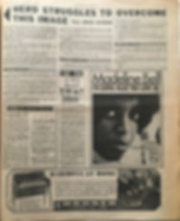 top ten of peter Brady/jimi hendrix newspaper/new musical express 20/4/1968