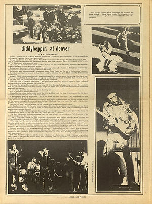 jimi hendrix newspaper 1969 nnnnnnnnn/new arbor argus july 29 1969/denver pop festival 69